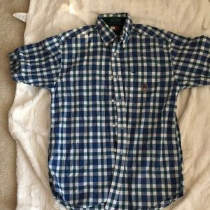 Tommy Hilfiger Plaid Boys Shirt